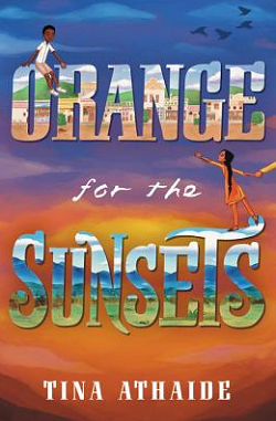 Orange for Sunsets bookcover link to Powells.com
